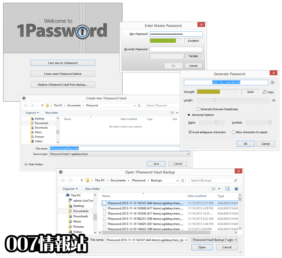 1Password for Windows Screenshot 2