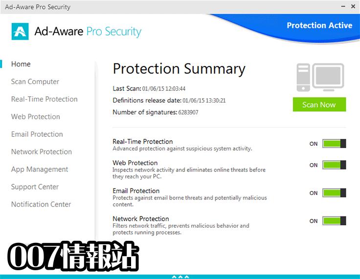 Ad-Aware Pro Security Screenshot 1