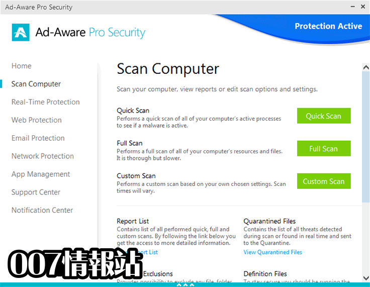 Ad-Aware Pro Security Screenshot 2
