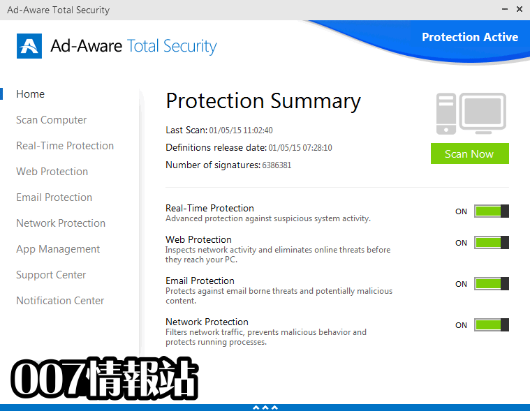 Ad-Aware Total Security Screenshot 1