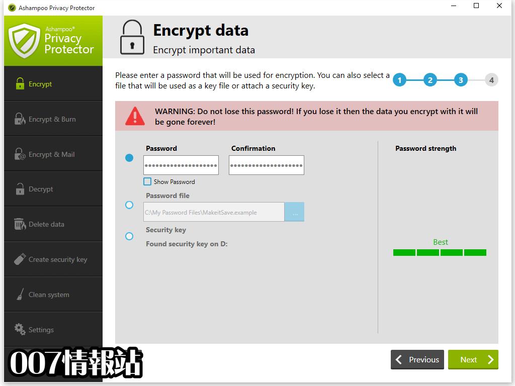 Ashampoo Privacy Protector Screenshot 2