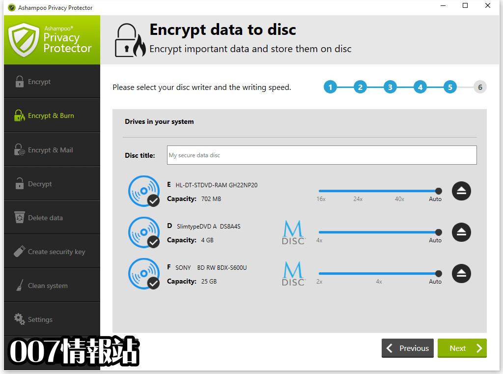 Ashampoo Privacy Protector Screenshot 3