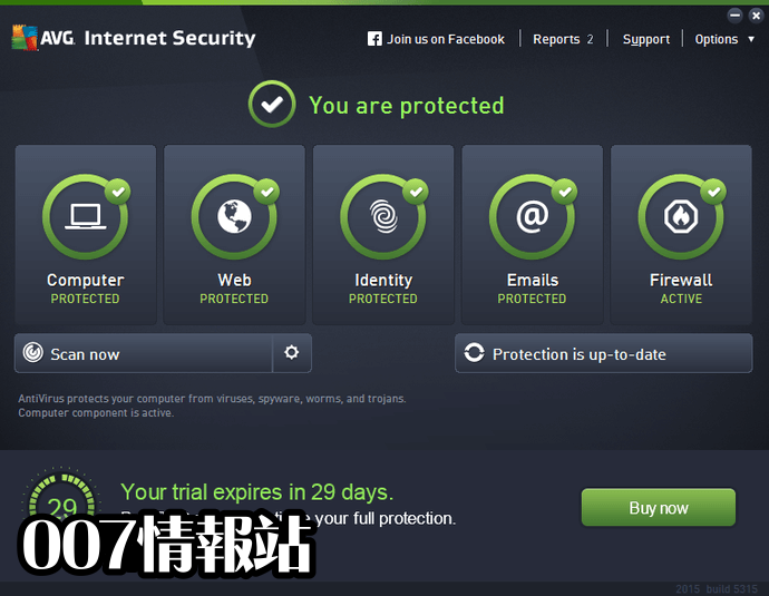 AVG Internet Security (64-bit) Screenshot 1