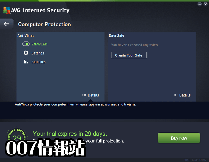 AVG Internet Security (64-bit) Screenshot 2