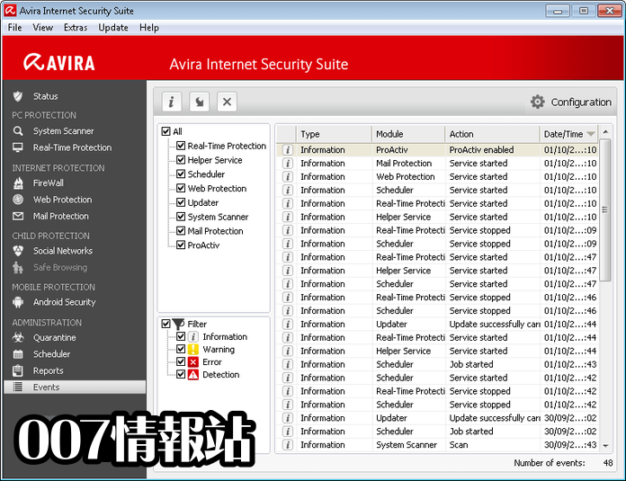 Avira Internet Security Suite Screenshot 4