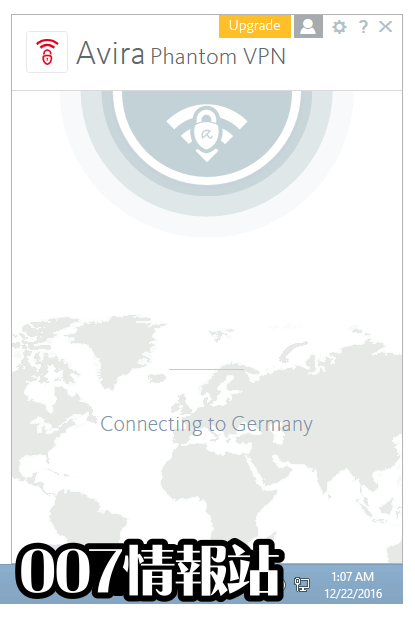 Avira Phantom VPN Screenshot 2