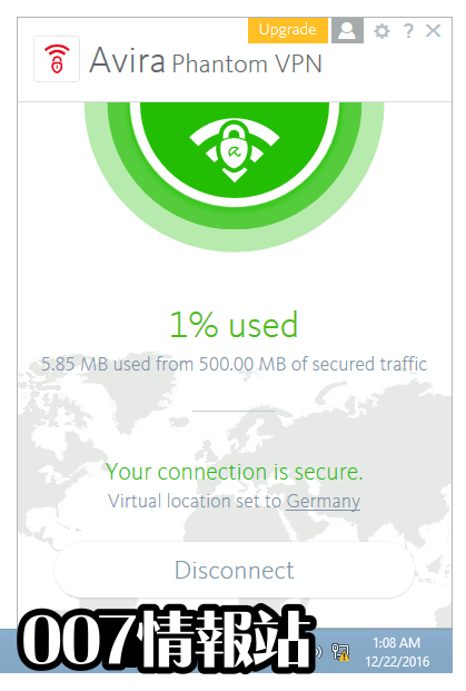 Avira Phantom VPN Screenshot 3