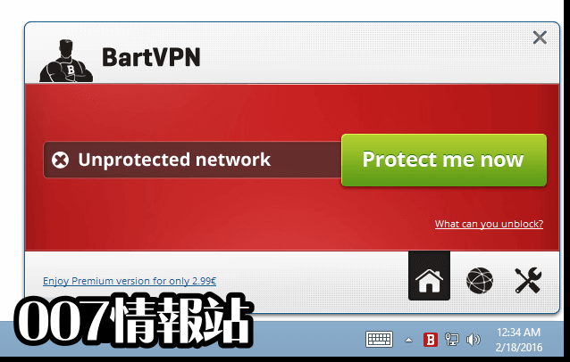 BartVPN Screenshot 1
