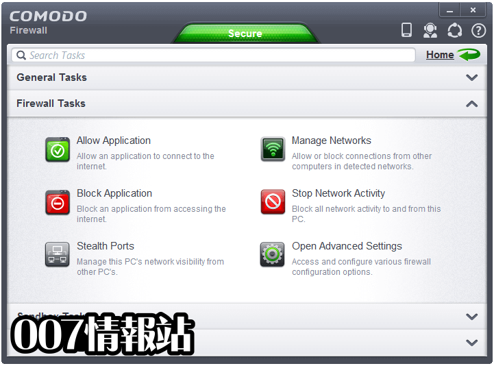 Comodo Firewall Screenshot 3