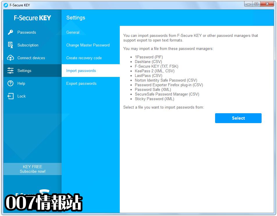 F-Secure KEY Screenshot 5