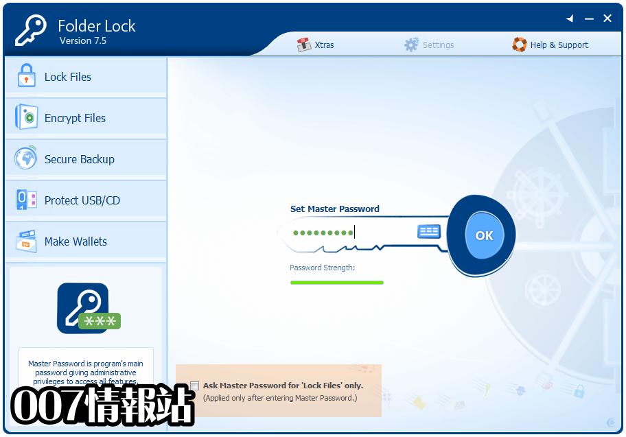 Folder Lock Screenshot 1