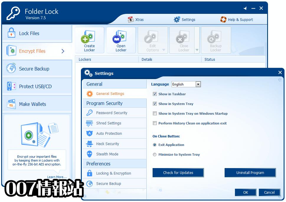 Folder Lock Screenshot 5