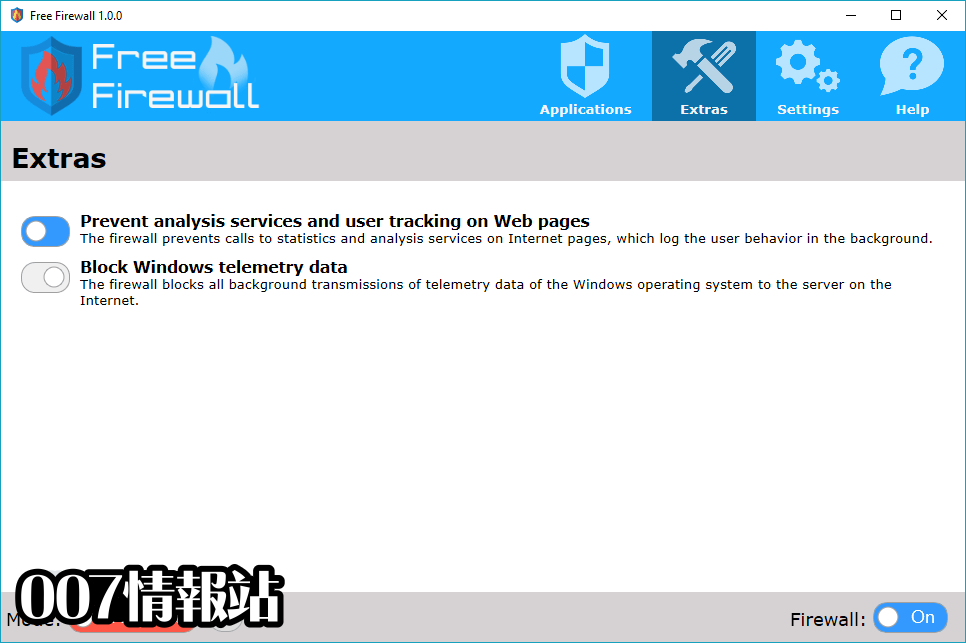 Free Firewall (32-bit) Screenshot 3