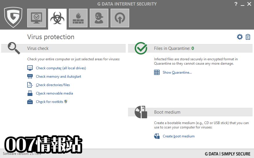 G DATA Internet Security Screenshot 2