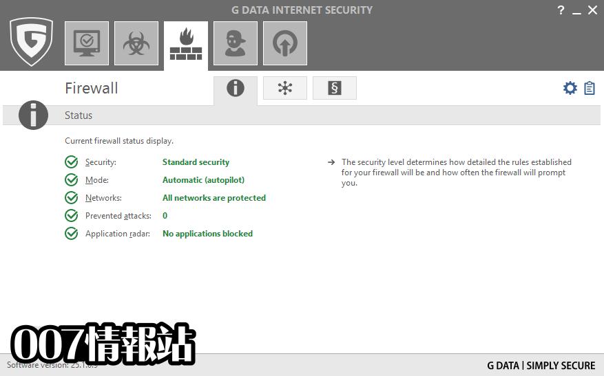 G DATA Internet Security Screenshot 3