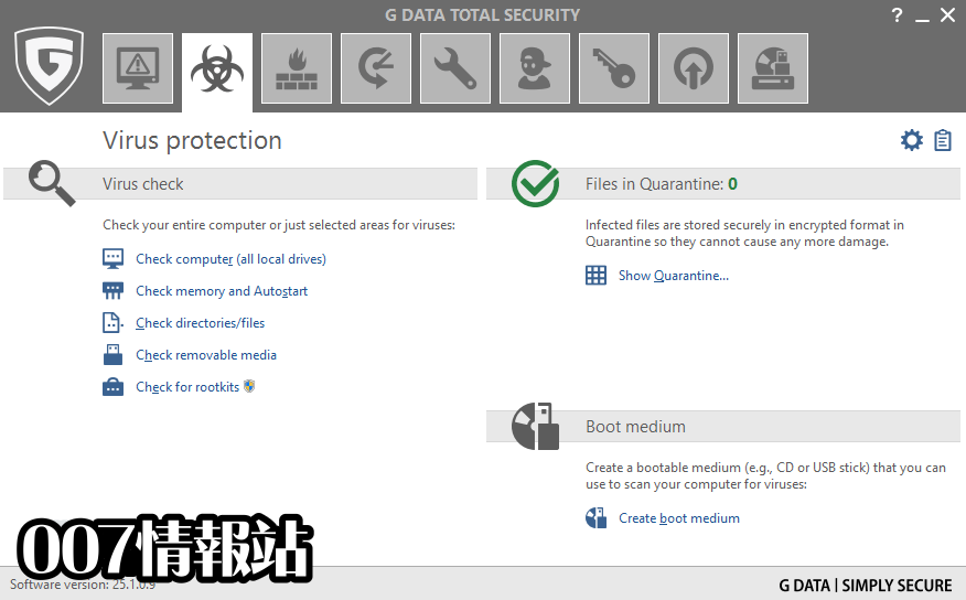 G DATA Total Security Screenshot 2