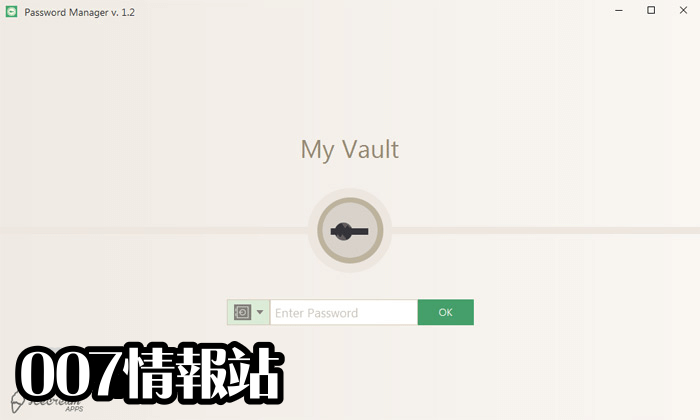 Icecream Password Manager Screenshot 1