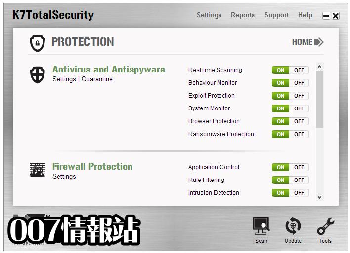 K7 Total Security Screenshot 1