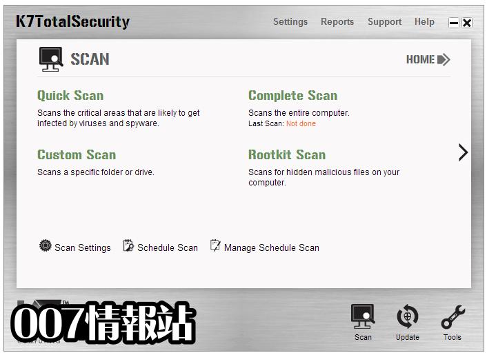 K7 Total Security Screenshot 2