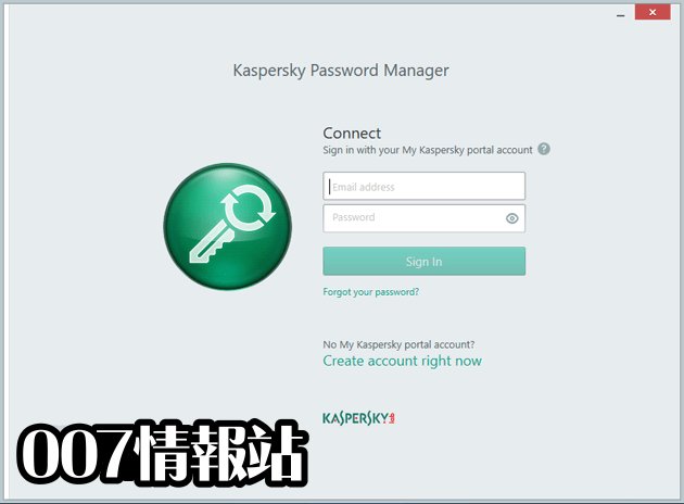Kaspersky Password Manager Screenshot 1