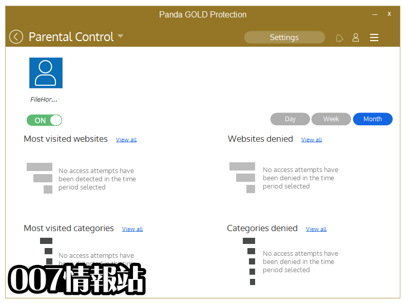 Panda Gold Protection Screenshot 4