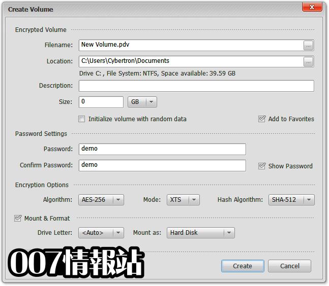 Privacy Drive Screenshot 2