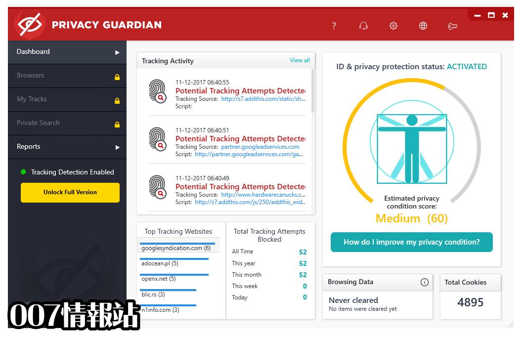 Privacy Guardian Screenshot 1