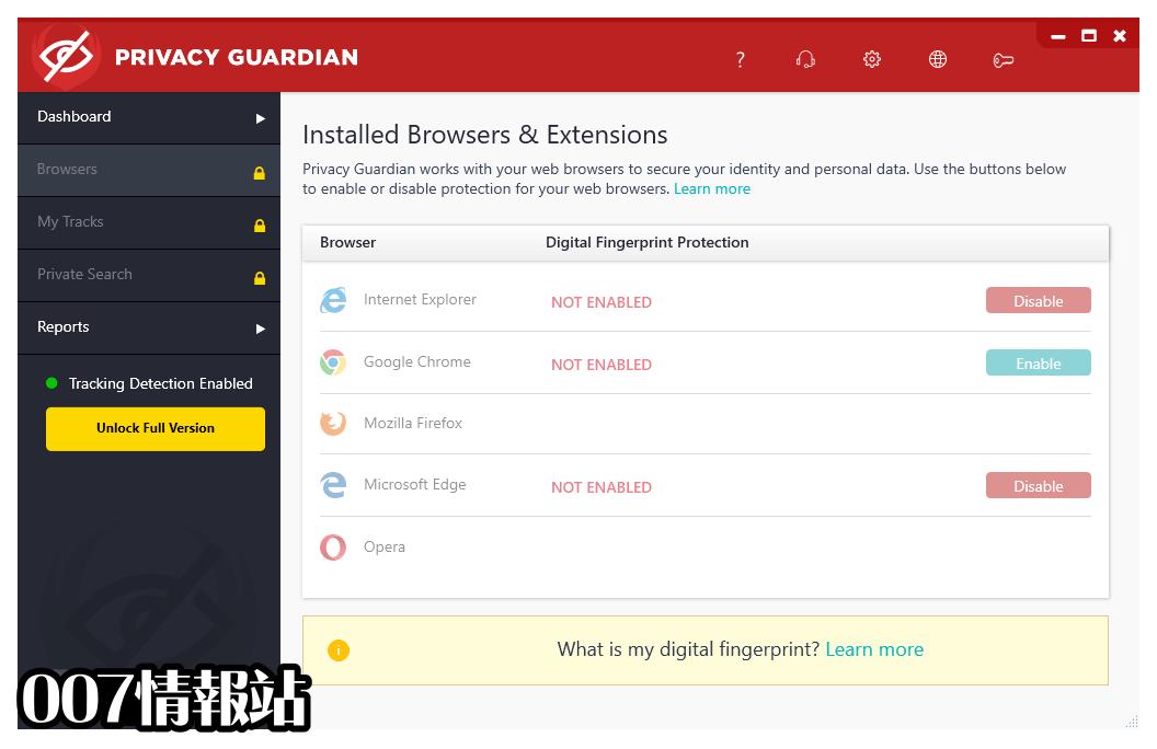 Privacy Guardian Screenshot 2