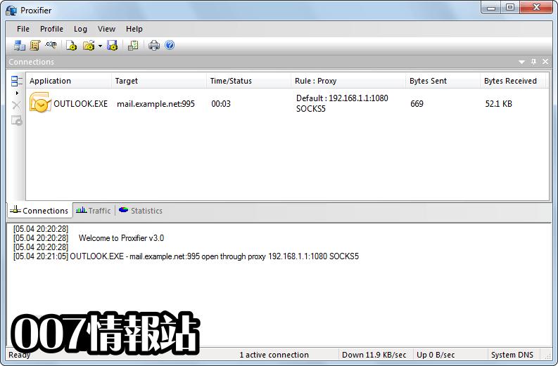 Proxifier Screenshot 3