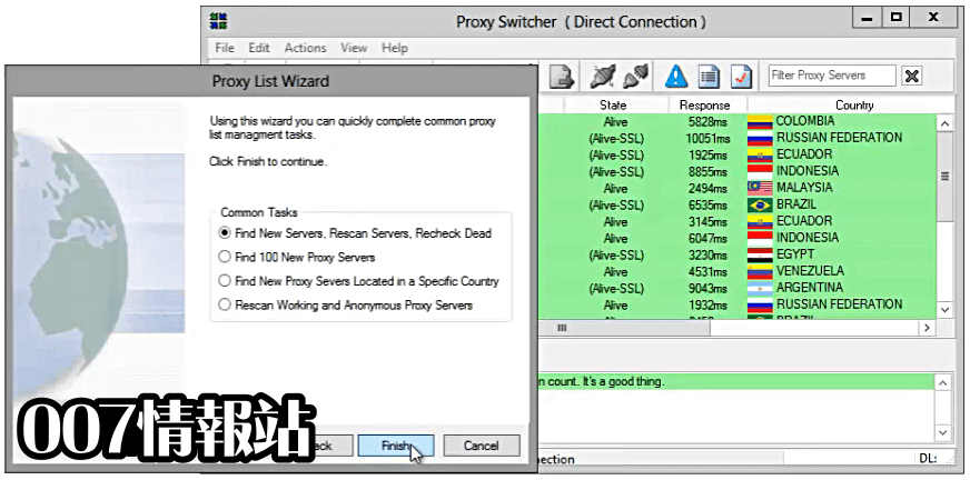 Proxy Switcher Standard Screenshot 3