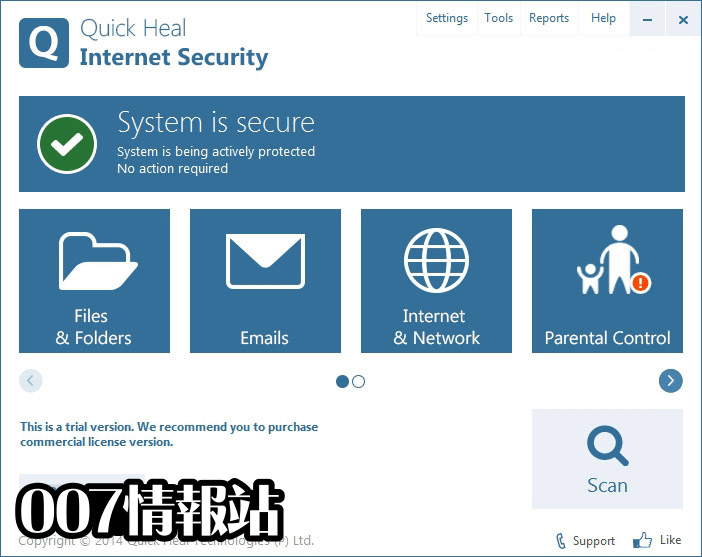 Quick Heal Internet Security (32-bit) Screenshot 1