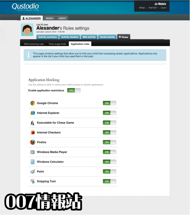Qustodio Screenshot 1