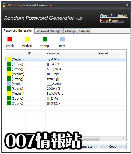 Random Password Generator Screenshot 2