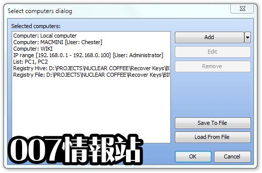 Recover Keys (64-bit) Screenshot 3
