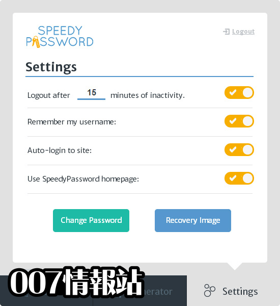 SpeedyPassword Screenshot 4