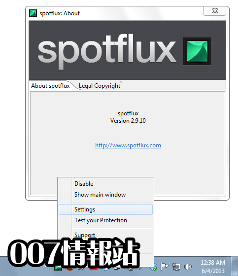 Spotflux Screenshot 4