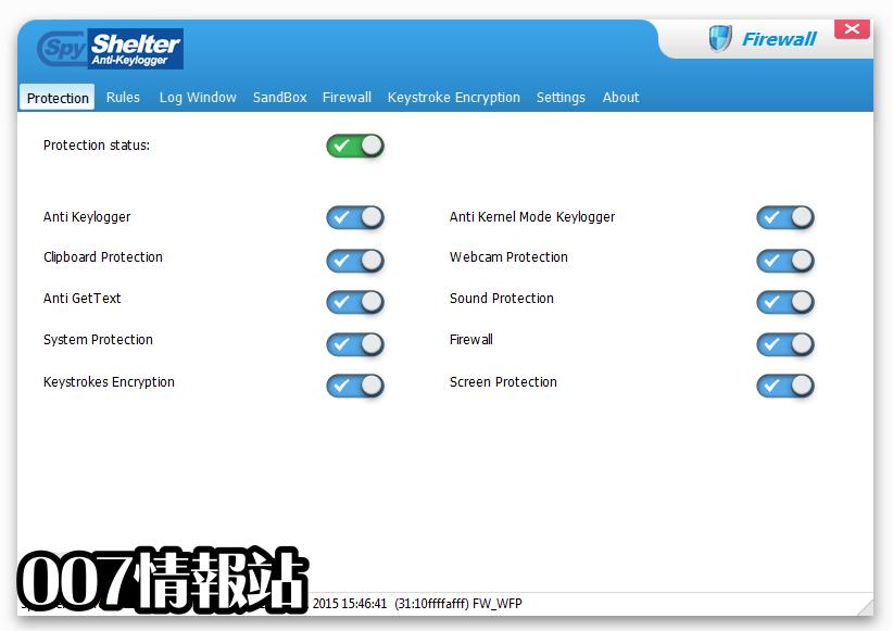 SpyShelter Firewall Screenshot 2
