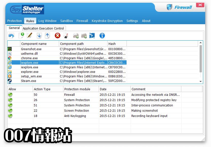SpyShelter Firewall Screenshot 3