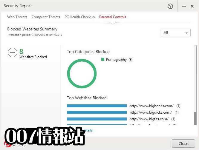 Trend Micro Internet Security Screenshot 5
