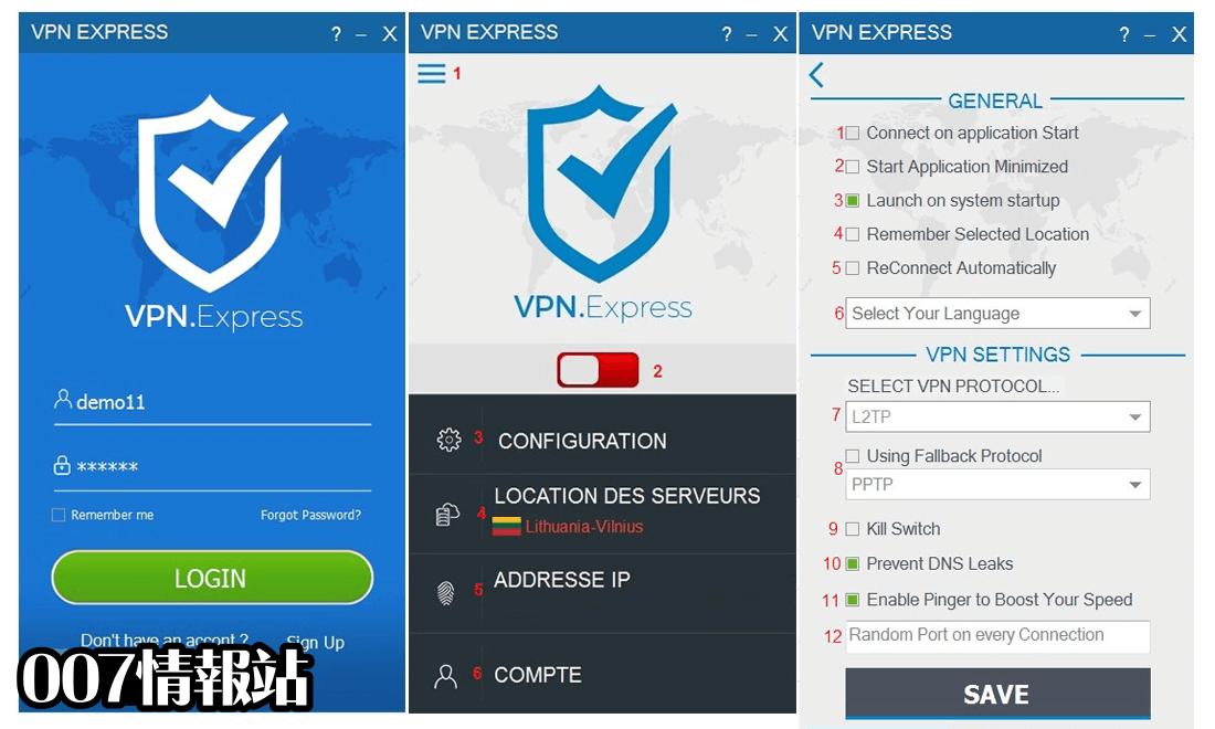 VPN.Express Screenshot 1