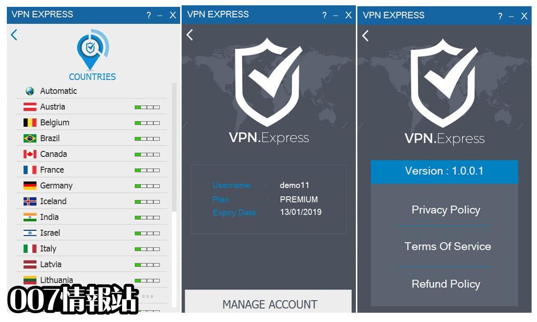 VPN.Express Screenshot 2