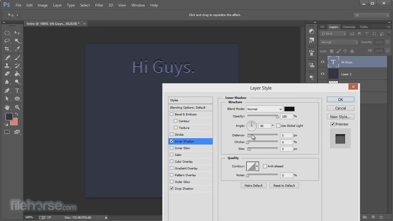 Adobe Photoshop (64-bit) Screenshot 3