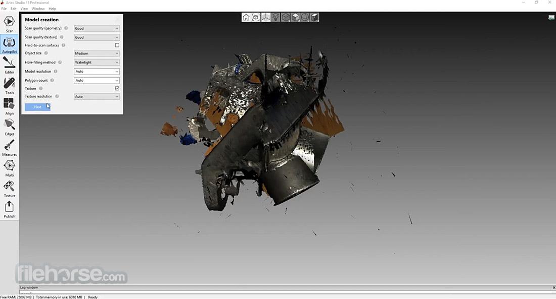 Artec Studio Screenshot 4
