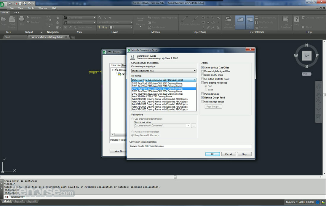 Autodesk DWG Trueview (32-bit) Screenshot 4