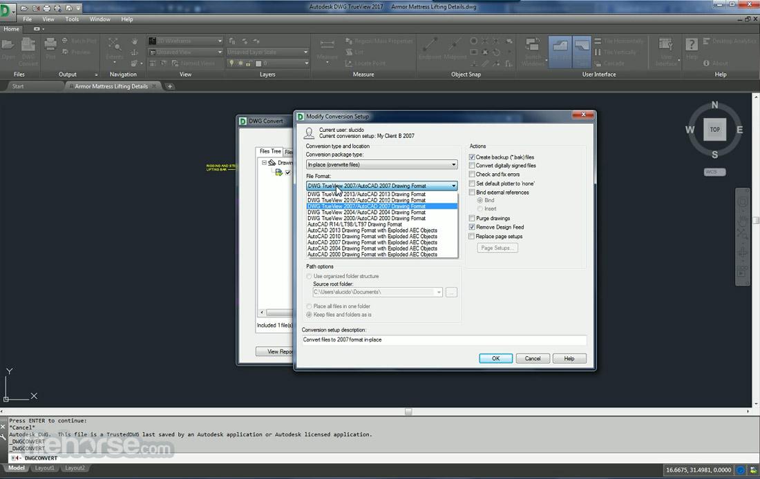 Autodesk DWG Trueview (64-bit) Screenshot 4