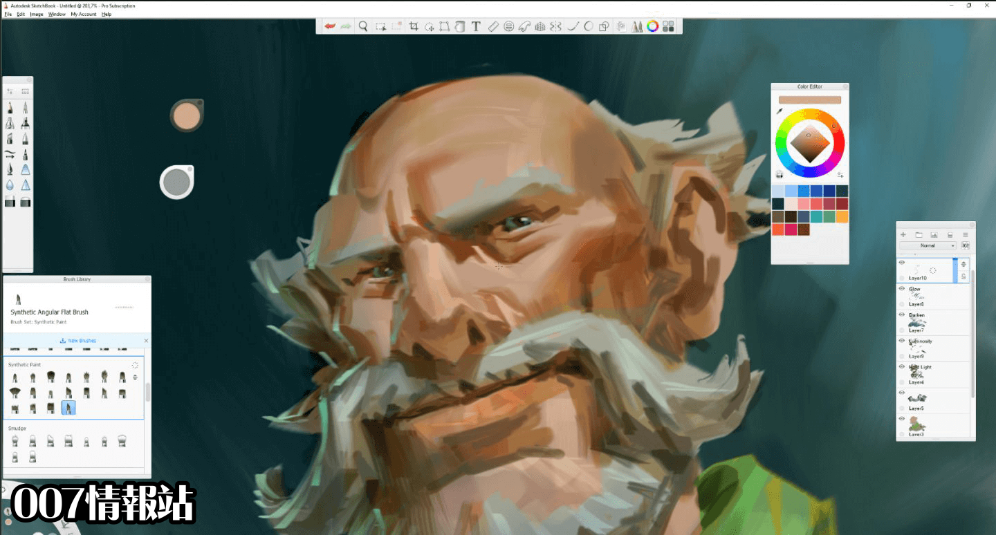 Autodesk SketchBook (32-bit) Screenshot 4