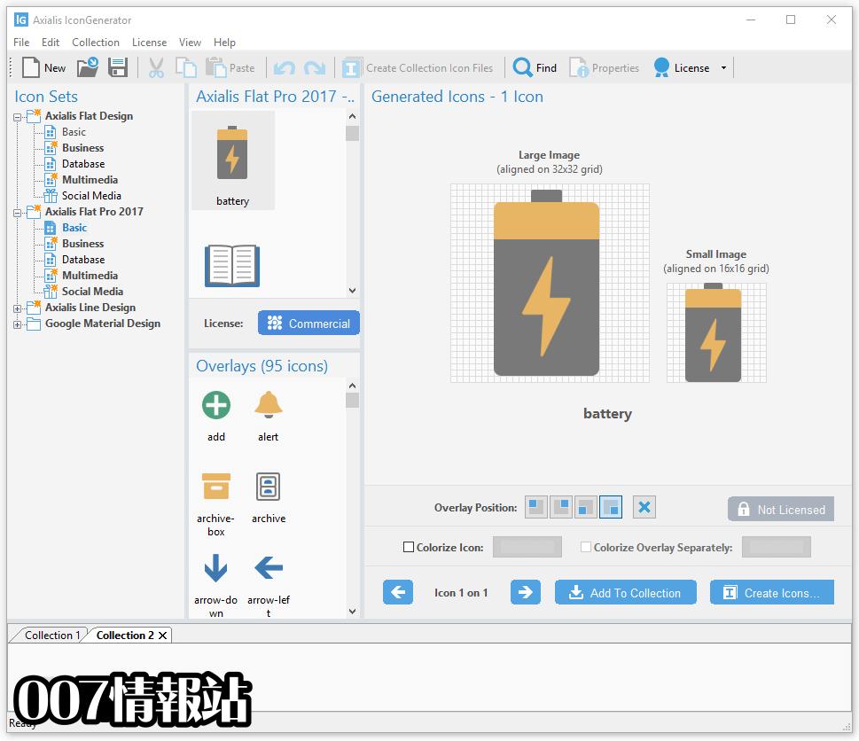 Axialis IconGenerator Screenshot 2