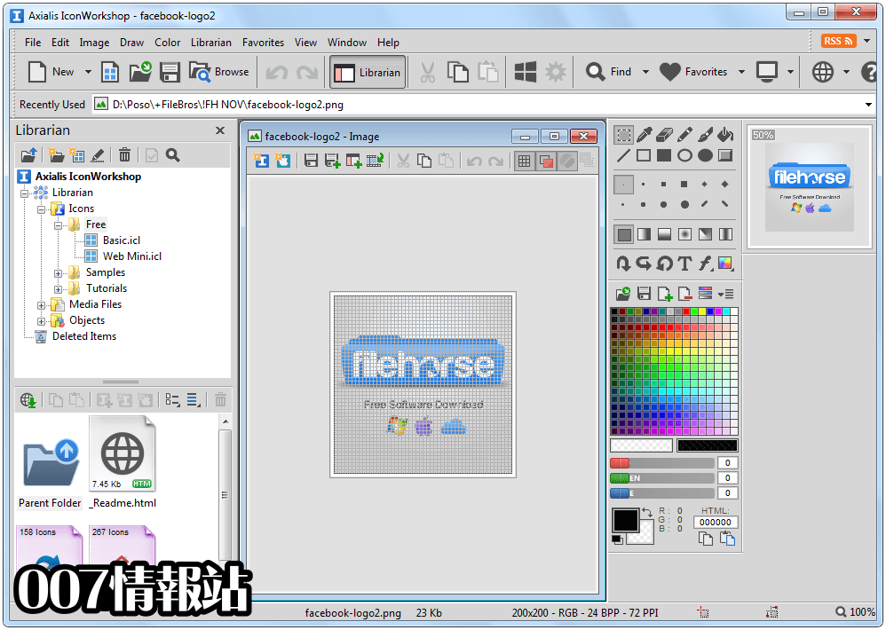 Axialis IconWorkshop Screenshot 1