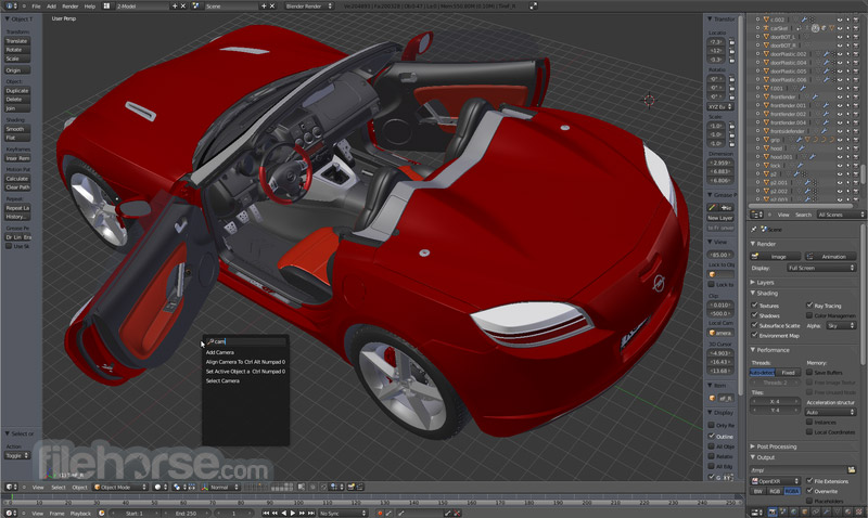 Blender (64-bit) Screenshot 1