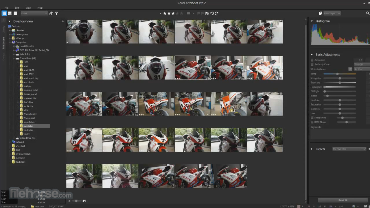 Corel AfterShot Pro Screenshot 1